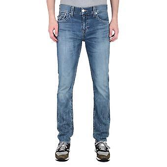 True Religion Rocco Slim Mid Blue Jeans