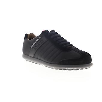 Camper Pelotas XL  Mens Black Canvas Lace Up Low Top Sneakers Shoes