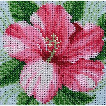 VDV Bead Embroidery Kit - Hibiscus