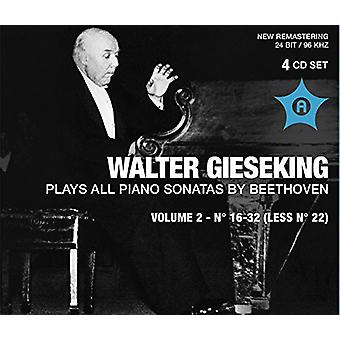 Beethoven / Gieseking - Pno Sons 2 [CD] USA import