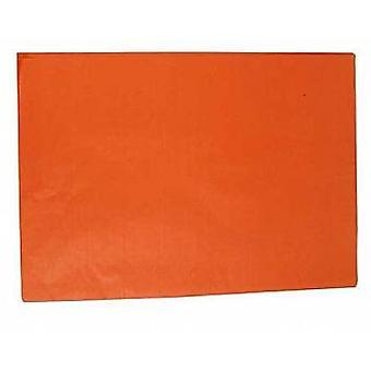 25 fuld ark af Orange ingen folder silkepapir | Gave Wrap forsyninger