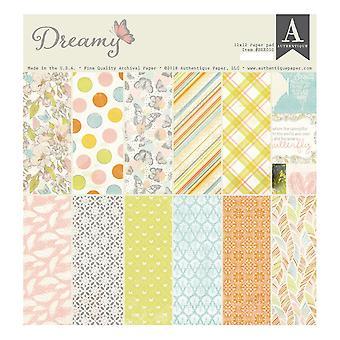 Authentique Dreamy 12x12 Inch Paper Pad