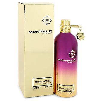 Montale الحسية غريزة eau de parfum رذاذ (للجنسين) بواسطة montale 550533 100 مل