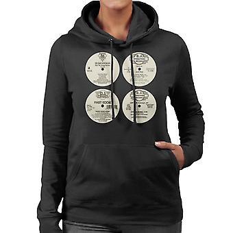 DJ International Classic Records Women's Hooded Sweatshirt