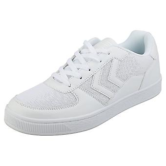 hummel Baltica Mens Casual Trainers in White
