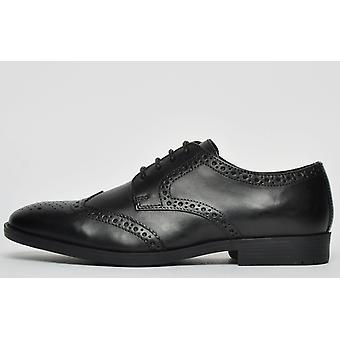 Ikon Classic Windsor Leather Brogue Black