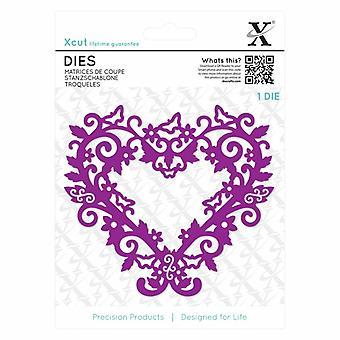 Xcut morre (1pc) - filigrana coração Frame (XCU 503431)