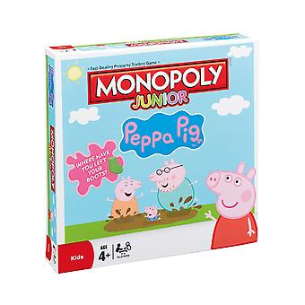 Peppa Pig Junior Monopoly Board Game
