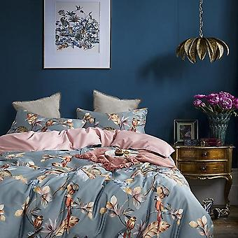 Hd Birds Branch Printed Premium Egyptian Cotton Silky Soft Duvet Cover