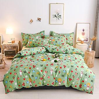 Home Decoration Polyester Printed Bedding Set
