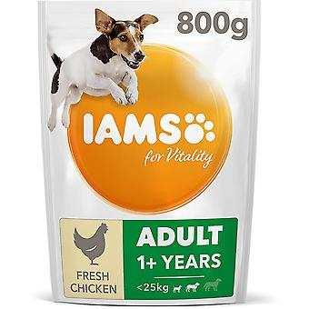 Iams Vitality Adult - Small/Medium Breed With Fresh Chicken - 800g