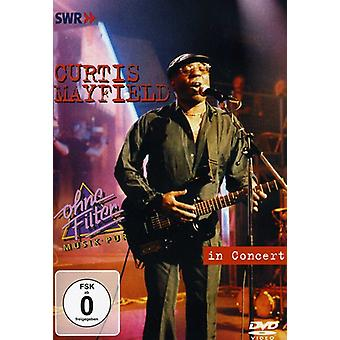 Curtis Mayfield - In Concert [DVD] USA import
