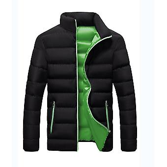 Men's Heavyweight Water Resistant Quilted Puffer Coat