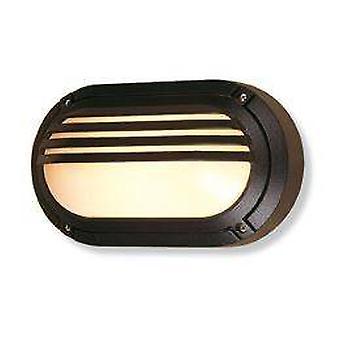 Firstlight Verona - 1 Light Outdoor Wandleuchte - 60W Schwarz IP54, E27