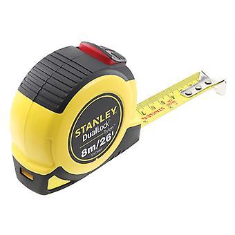 Stanley Tools DualLock  Tylon Pocket Tape 8m/26ft (Width 25mm) STA036807
