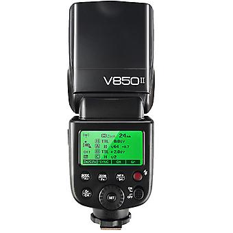 Camera Flash Godox V850ii 2.4g 60gn 1 / 8000s For Canon Nikon Sony Pentax Olympus Panasonic