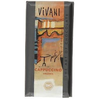 Vivani - Organic Cappuccino Chocolate 100gx10