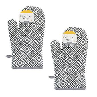 Country Club Set of 2 Global Oven Mitts