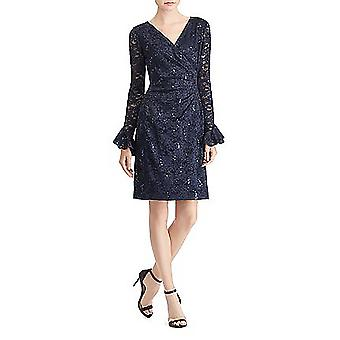 Lauren by Ralph Lauren | Agnes Embelished Lace Front Party Dress