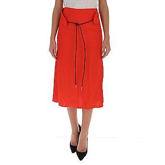 Victoria Beckham 1320wsk001673c Femmes-apos;s Jupe rouge Viscose