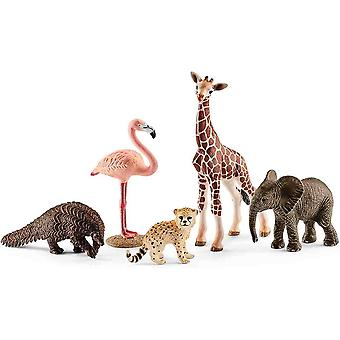 Schleich assorted wild life animals play set for children over 3 years old