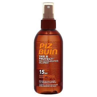 Piz Buin Tan & Protect Accelerating Oil Spray SPF15 - 150ml