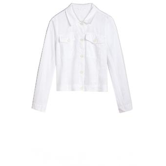 Sandwich Clothing Light White Linen Jacket