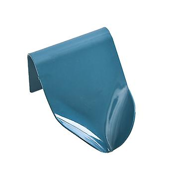 Soap Holder Wall Mounted Soap Dish with Suction Cup Dark Blue