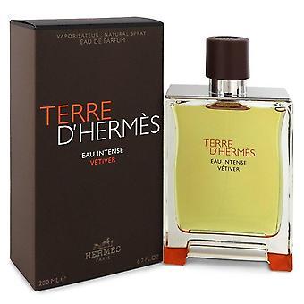 Terre d'hermes eau voimakas vetiver eau de parfum spray hermes 548454 200 ml