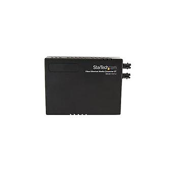 Startech 100 Mbps Ethernet To Fiber Optic Media Converter