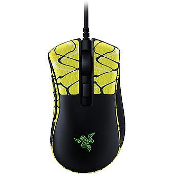 REYTID Durasoft Polímero Gaming Mouse Skin Grip Sticker Tape - PRE-CUT - Compatible con Razer DeathAdder V2 - Grips antideslizantes, impermeables y ultracómicos