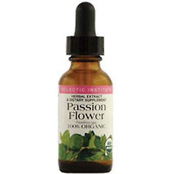 Eclectic Institute Inc Passion Flower, 1000 mg, 1 Oz avec alcool