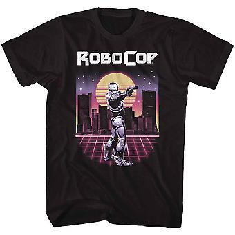 Robocop Synthwave Cop T-shirt