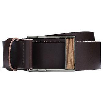 BeWooden Linea Belt - Brown