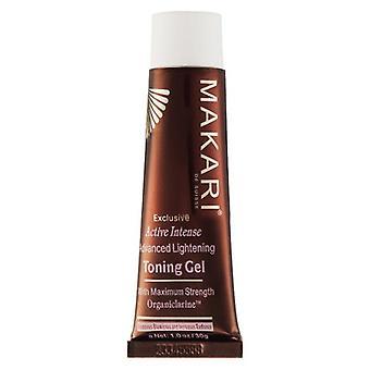 Makari Exclusive Gel - Skin Lightening - Advanced Natural Facial Care - Renew Damaged Skin & Revive Radiance, NO Bleaches - 30g Gel