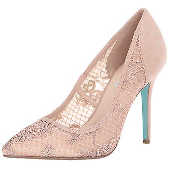 Betsey Johnson Women's Shoes Sb-Nessa Suede Pointed Toe Classic Pumps