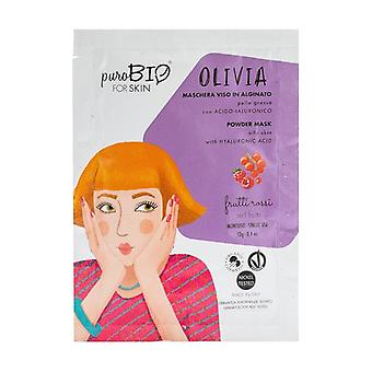 Olivia Peel off face mask - oily skin red fruits - 10 13 g of powder (Berries)