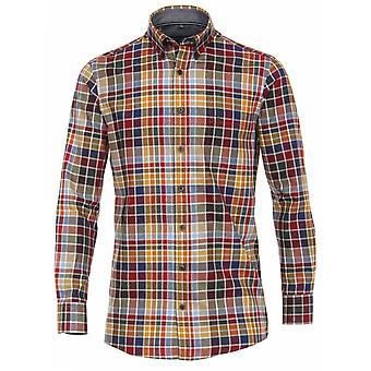 CASA MODA Casa Moda Fashion Check Casual Shirt