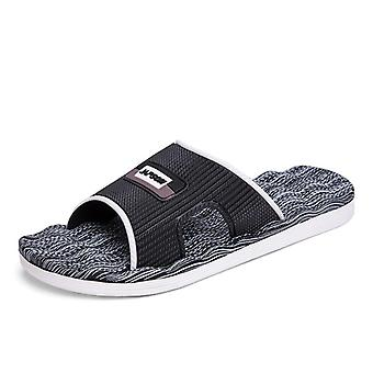 Men's Flip Flops Clogs Summer Breathable Slippers, Non-slip Casual Beach