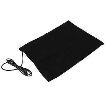 23.5x30cm Carbon Fiber Heating Pads Black Washable Warmer 5V USB Cloth