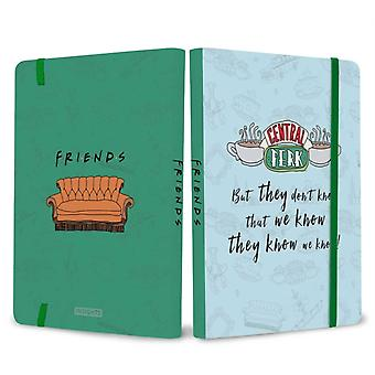 Vrienden Central Perk Softcover Notebook by Insight Editions