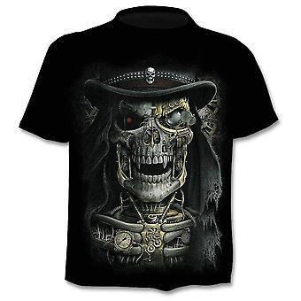 3D Tlač It's Time Letter Novinka Krátky rukáv T-shirt/men