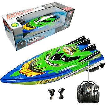 Electric Remote Control Speed Plastic Boat With Twin Motor For Kid