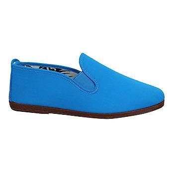 Estilo hilo dental Arnedo Unisex Alpadrille Slip On Plimsolls Zapatos 55 Azul