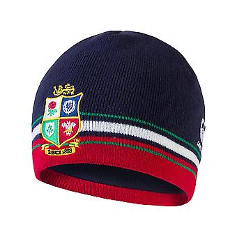 Canterbury British & Irish Lions Rugby Beanie Hat | Peacoat Blauwe | 2021 | Volwassen