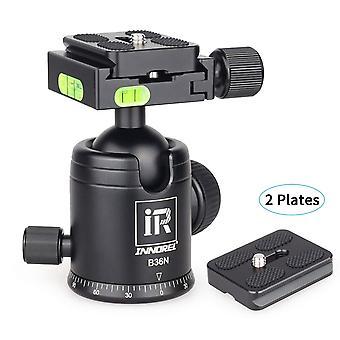 Tripod ball head, innorel b36n camera tirpod ball head mount, all metal cnc panorama ballhead, 36mm