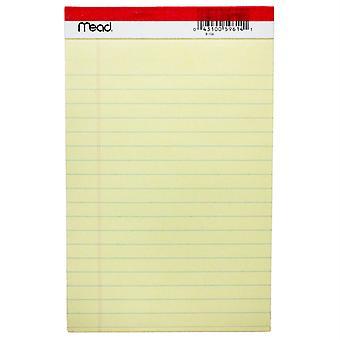 """Standard Legal Pad, 5"""" X 8"""", 50 Sheets"""