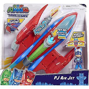 Playset do Jato Aéreo (Máscaras PJ)