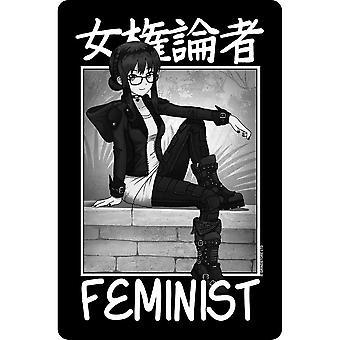 Tokyo Spirit Feminist Plaque