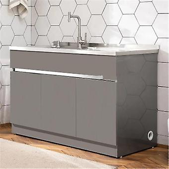 Stainless Steel Basin Combination Cabinet With Washboard